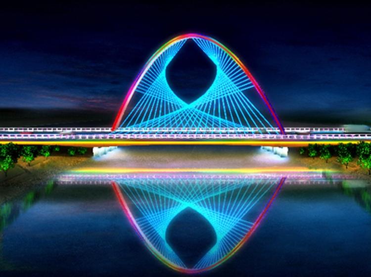 甘肃嘉峪关跨讨赖河桥梁