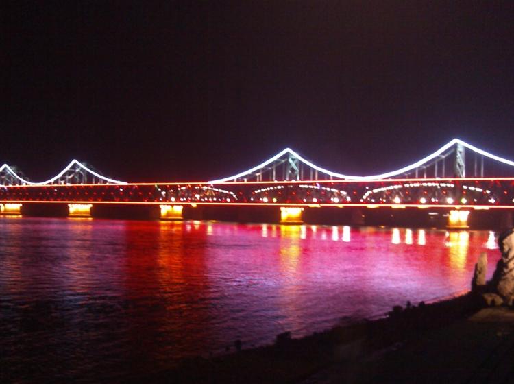 辽宁丹东鸭绿江大桥